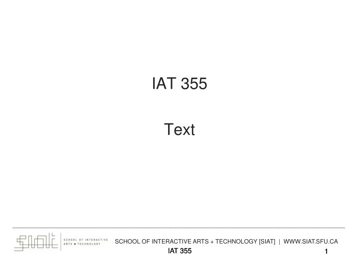 iat 355 text n.
