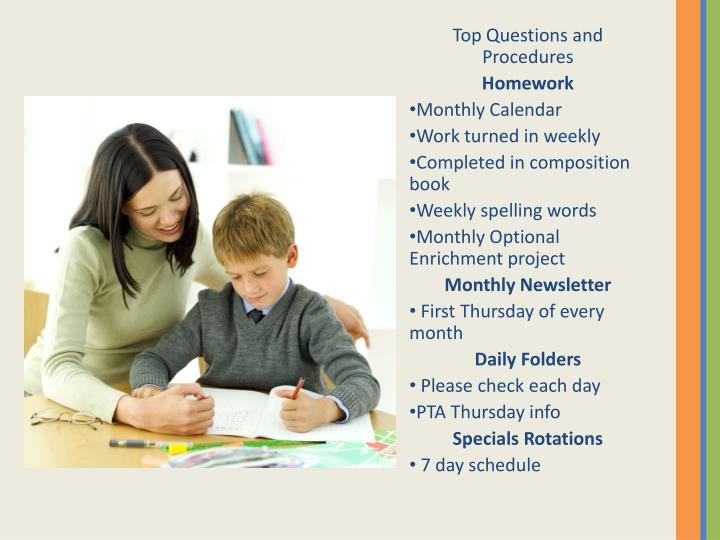 Top Questions and Procedures