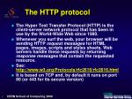 the http protocol