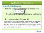 aci code provisions6