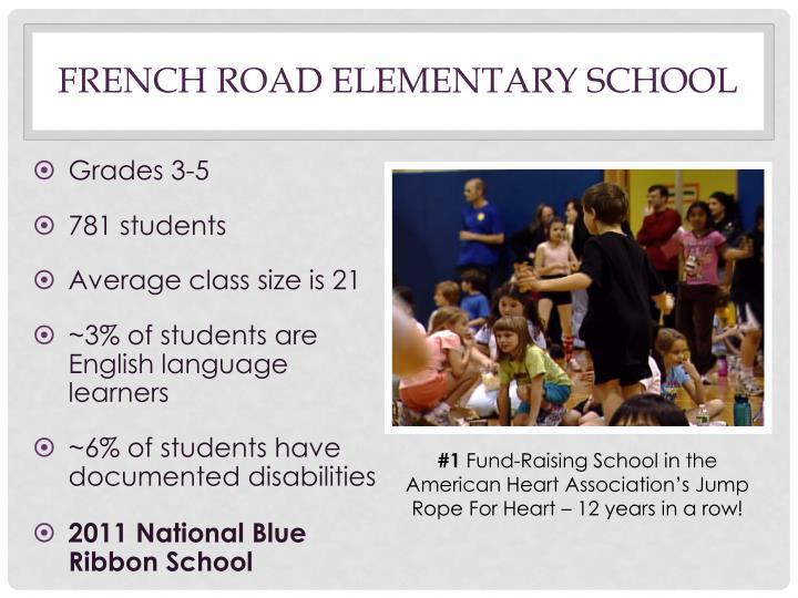 French road elementary school