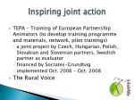 inspiring joint action