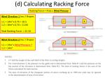 d calculating racking force3