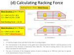 d calculating racking force4