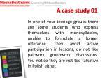 a case study 01