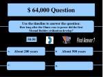 64 000 question1