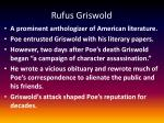 rufus griswold
