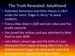 the truth revealed adulthood1