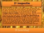2 e inspectie maatschappelijke autoriteit