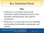 key nutritional needs4
