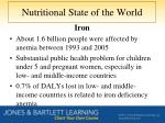 nutritional state of the world4