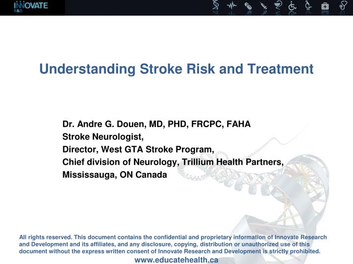 understanding stroke risk and treatment n.