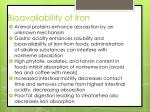 bioavailability of iron2