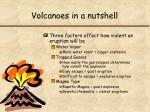 volcanoes in a nutshell1