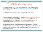cream overview