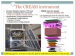 the cream instrument