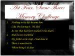 act four scene three memory challenge1