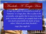 macbeth a tragic hero