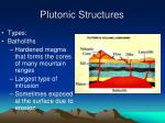 plutonic structures1