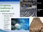 eruptions landforms materials5