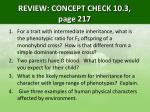 review concept check 10 3 page 217