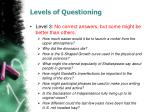 levels of questioning2