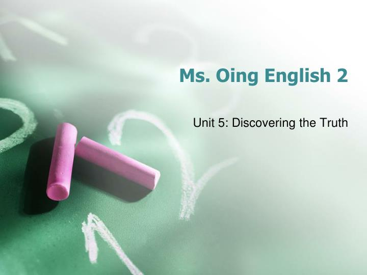 ms oing english 2 n.