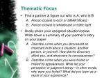 thematic focus1