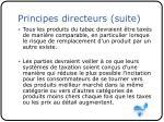 principes directeurs suite4
