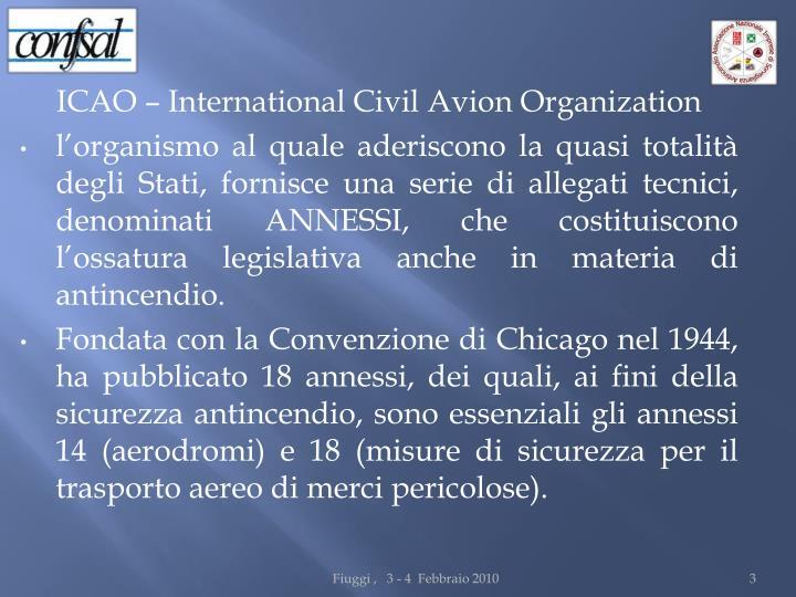 ICAO – International