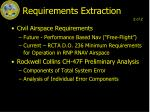 requirements extraction1