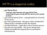 http 1 0 response codes3