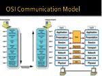 osi communication model