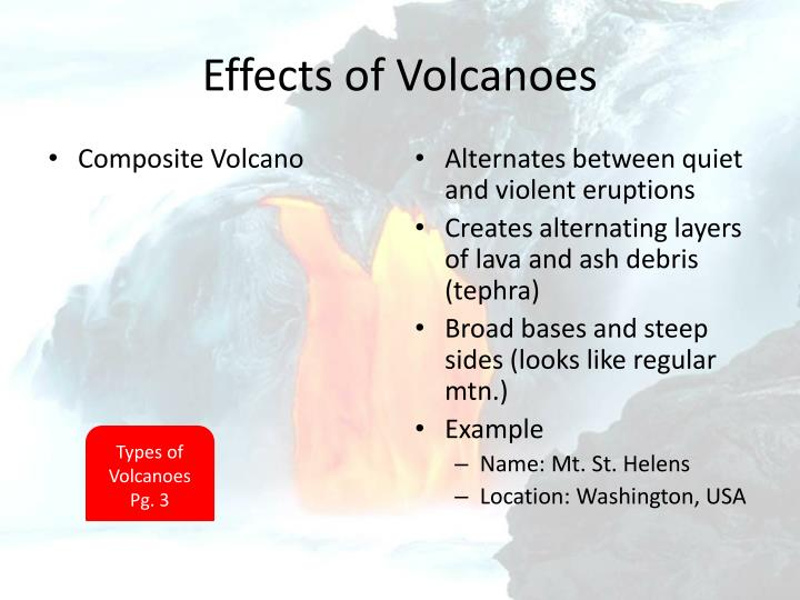 Effects of Volcanoes