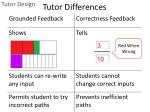 tutor differences