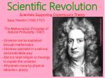 scientific revolution17