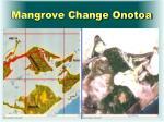 mangrove change onotoa