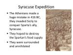 syracuse expedition