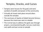 temples oracles and curses
