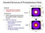 detailed structure of protoplanetary disks1