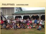 philippines christmas camp