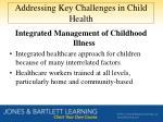 addressing key challenges in child health3