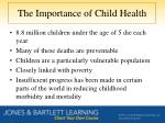 the importance of child health