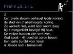 psalm 46 1 41