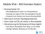 mobile ipv6 mit fremden federn
