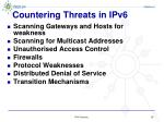 countering threats in ipv6