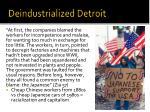 deindustrialized detroit