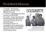 third world alliances