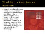 who killed the asian american movement