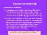 summary of manuscript9